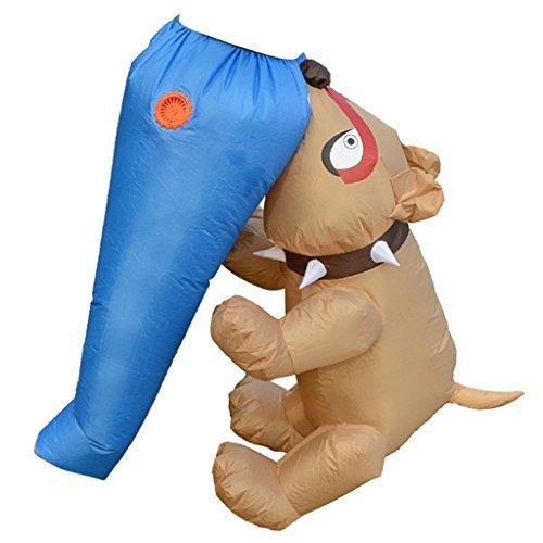 Hunde Fett Für Kostüm - Sharplace Lustig Hund und Ass Kostüm Aufblasbares Kostüm Fatsuit Fett Anzug für Party Cosplay Fasching und Karneval