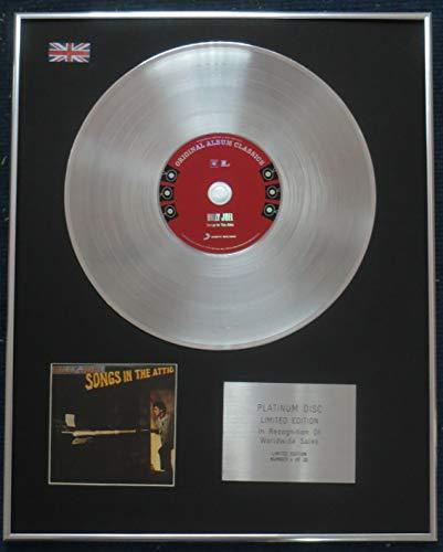 Century Presentations - Billy Joel CD Platin LP Disc - Songs in The Attic