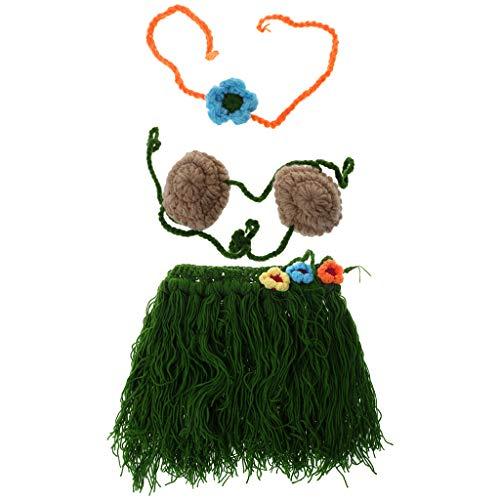 Vivianu Baby-Kostüm, handgefertigt, Blumen-BH, lustige Fotografie, geflochten, wachsende Rekord, von Vivianu a