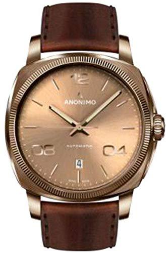 Anonimo epurato orologio Uomo Analogico al Automatico con cinturino in...