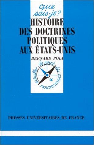 Histoire des doctrines politiques aux Etats-Unis