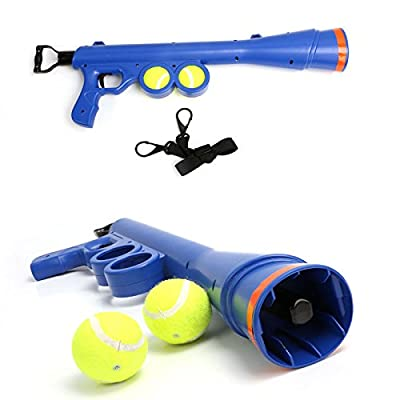 Tennis Ball Cannon Cannon Tennis Ball Launcher Dog Toy Fetch 20 m