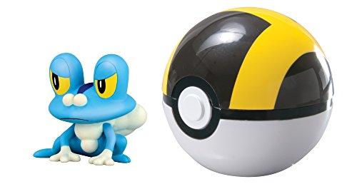 Tomy Pokémon - T18762 - Coffret Clip 'n' Carry Poké Ball - Grenousse + Hyper Ball