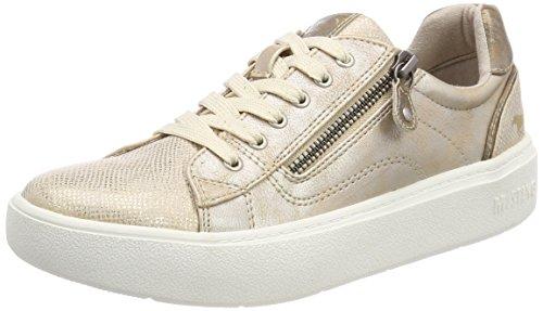 MUSTANG Damen 1268-304-699 Sneaker, Gold, 38 EU