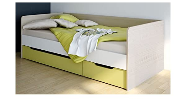 Kojenbett wellemöbel  Wellemöbel Unlimited Jugendbett mit Bettkasten 90x200 oder 100x200 ...