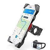 Fahrradhalterung,Dreamore Universal Fahrrad Handyhalterung Einklemmen an den vier Ecken mit 360 Grad drehbare Für 3,5-6,5 Zoll Smartphone GPS Andere Geräte