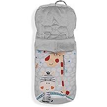color Gris Kaiser 65337225 Anna Looping-Saco de abrigo para carrito de beb/é para silla algod/ón Fleece Star Applikation mezcla