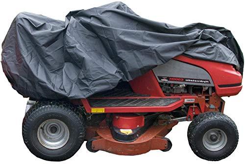 Speedwellstar - Housse de Protection pour Tondeuse à Gazon en Très robuste 300D résistant Housse imperméable et Anti-UV pour Tracteur de Jardin 165 x 110 x 165 étanche Respirant élastique Ourlet