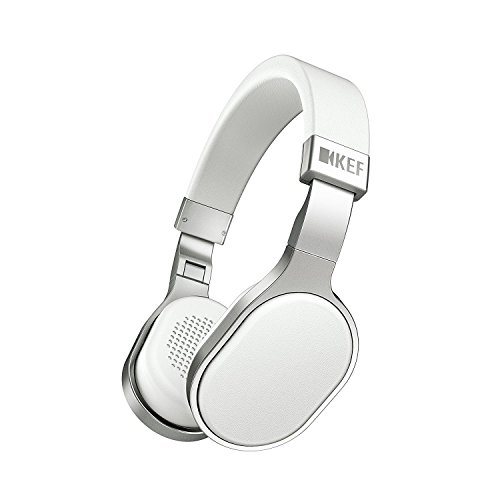 KEF M500 Over-Ear Hi-Fi Headphone - White