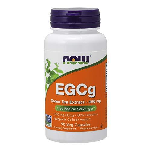 NOW NF EGCG Green Tea, 400 mg, 90 kapsulen -