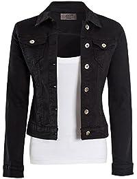 günstig d660f e8d16 Suchergebnis auf Amazon.de für: schwarze jeansjacke damen ...