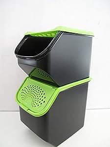 tupperware c48 ortofresco da 8 3 l nero verde c65 orto. Black Bedroom Furniture Sets. Home Design Ideas