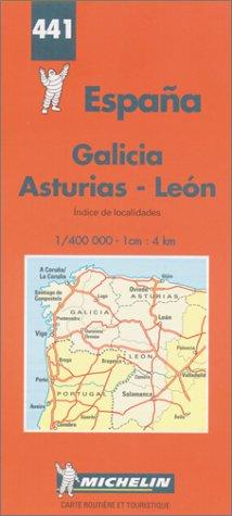 Preisvergleich Produktbild Michelin Karten, Bl.571 : Galicien (8ed)