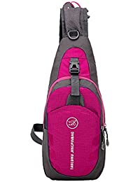 Generic Waterproof Shoulder Sling Chest Bag Running Hiking Cycling Travel Pack Backpack For Men Women - 7 Colors...