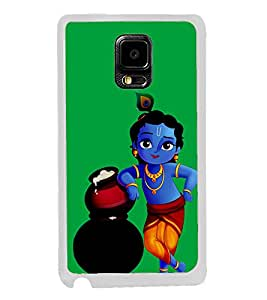 Krishna 2D Hard Polycarbonate Designer Back Case Cover for Samsung Galaxy Note Edge :: Samsung Galaxy Note Edge N915FY N915A N915T N915K/N915L/N915S N915G N915D