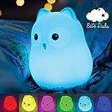 Veilleuse Bébé & Enfant [Bébé Dodo®] - Lumière LED douce et apaisante - Veilleuse nomade rechargeable par USB