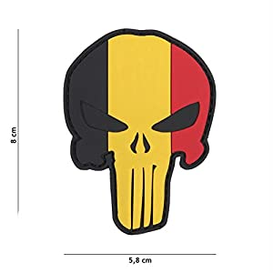 Mac Tools Patch 3D PVC Punisher Belgique/Cosplay/Airsoft/Camouflage