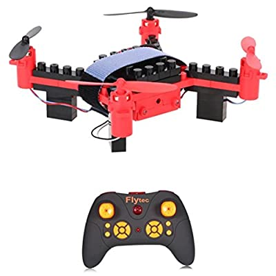 LILYYONG Helicopter Quadcopter Flytec T11 DIY Building Blocks Drone Helicopter