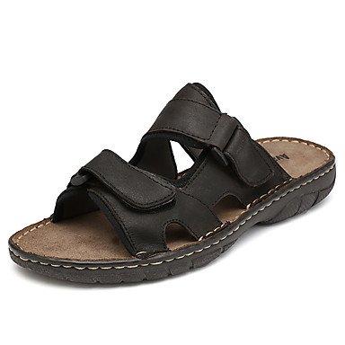 Scarpe da uomo in pelle Nappa Outdoor / Casual Pantofole & amp;Outdoor / piano casuale Hook & amp tallone; sandali US10 / EU43 / UK9 / CN44
