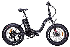 Fat-Bike Elektrofahrrad, zusammenklappbar, mit Pedalaten
