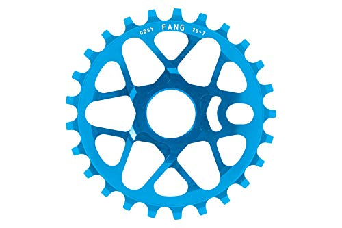 Odyssey BMX Tom Dugan Fang Kettenblatt | Cyan blau | 25T | 19mm/22mm/24mm