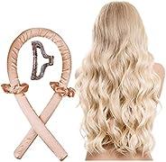 BananaHome Heatless Curling Rod Headband For Long Hair To Sleep In Overnight,No Heat Silk Curls Headband, Soft