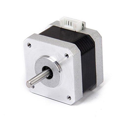 Pixnor Motor Nema 17 2 Phase 4-Draht 1.2A 34 mm 1,8 ° Schrittmotor Schrittmotor für 3D Drucker