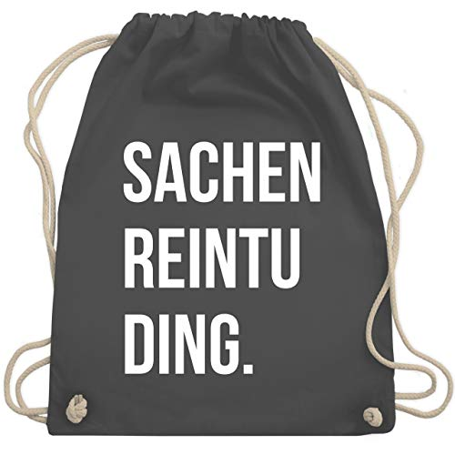 Festival Turnbeutel - Sachenreintuding - Unisize - Dunkelgrau - WM110 - Turnbeutel & Gym Bag
