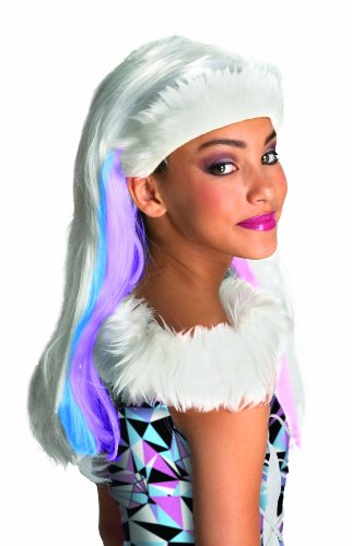 Monster High - I-52684 - Perruque - Enfant - Abbey Bominable