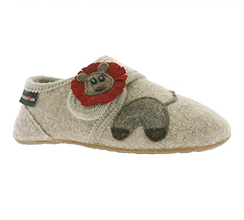 Haflinger Everest Lion, Chaussons bas mixte enfant Beige