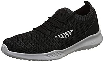 Red Tape Men's Black Nordic Walking Shoes-6 UK/India (40 EU) (RSC0401C-6)