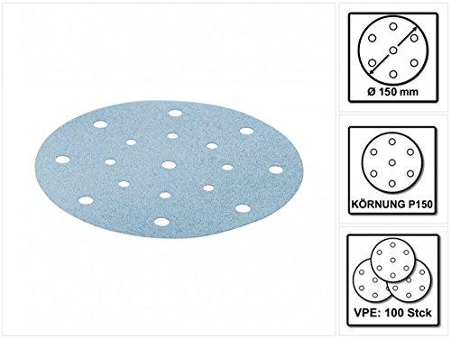 Preisvergleich Produktbild Festool StickFix Schleifscheiben STF D150/16 P150 GR/100