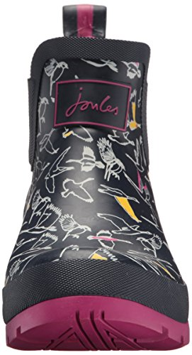 Tom Joule Damen Wellibob Gummistiefel Blue (Multi Birds)