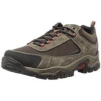 Columbia Men's Granite Ridge Waterproof Wide Hiking Shoe, Cordovan, Rusty, 9.5 2E US