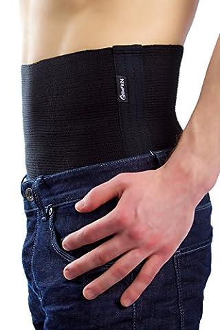 ®BeFit24 Elastischer Premium- Nierenwärmer – schützt die Muskulatur des unteren Rückenbereichs vor Verletzungen – Perfekter Rückenwärmer für Training, Fitness, Walking, Skifahren – Warm Sport Back Support Belt