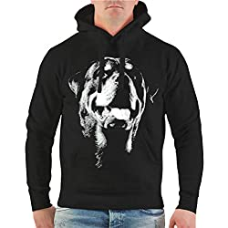 Spaß kostet Männer und Herren Kapuzenpullover Rottweiler BOSS