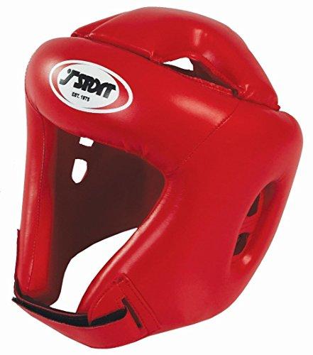 T-SPORT Boxen, Kickboxen, MMA Training Punch PU KopfschutzRotGröße Small, Medium, Large, Xlarge