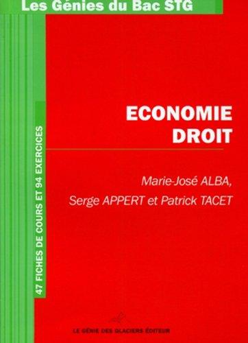 Economie- Droit
