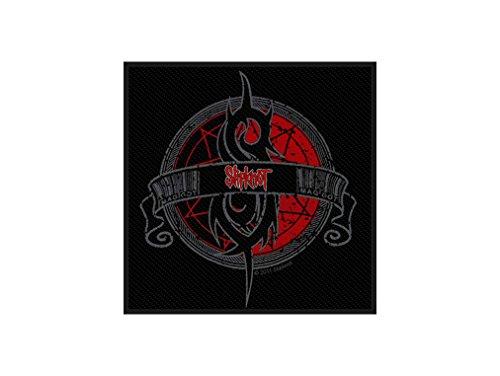 Slipknot Aufnäher - Crest - Slipknot Patch - Gewebt & Lizenziert !! (Gewebt Fallen Shirt)