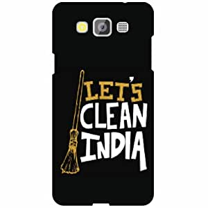 Samsung Galaxy Grand Max SM-G7200 Back Cover - Let's Clean India Designer Cases