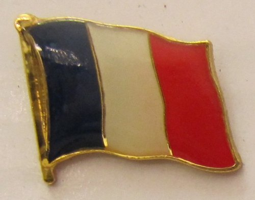 Pin Anstecker Flagge Fahne Frankreich Nationalflagge Tricolore