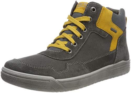 Superfit Jungen Earth Hohe Sneaker, Grau (Grau/Gelb 20), 38 EU
