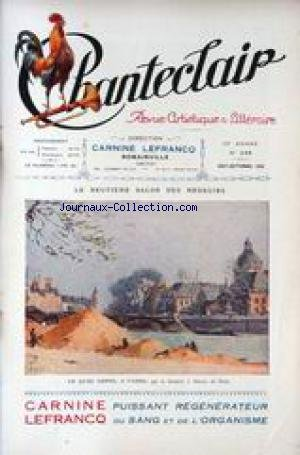 CHANTECLAIR [No 248] du 01/08/1928 - LE ...