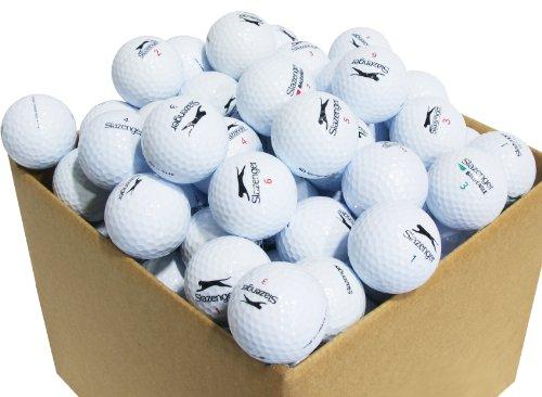 Second Chance Slazenger 100 Balles de golf de récupération Qualité supérieure Grade A