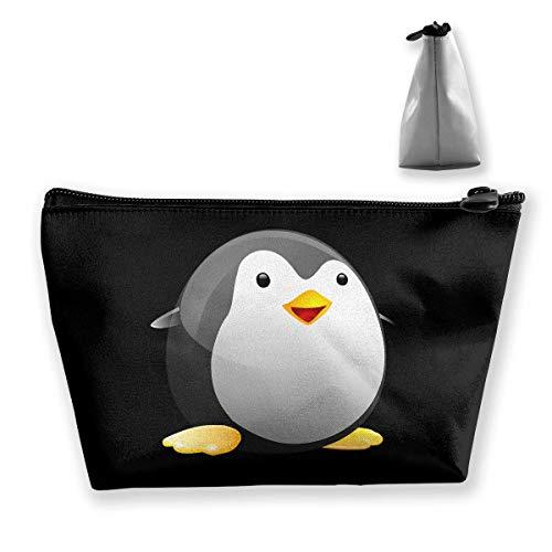 Trapez-Kulturbeutel Tragbare Reisetasche Pinguin Fett Süße Handtasche