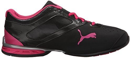Puma Tazon 6 Weittrainingsschuh Black/Silver/Beetroot/Purple