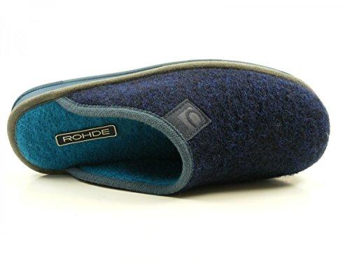 Rohde Moss 6034-56 Pantofole Donna Blau