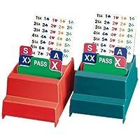 Bietboxen Klassik, 4 Stück mit Inhalt - rot