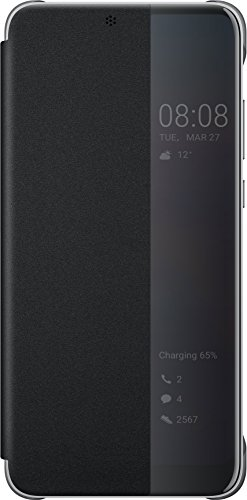 Huawei Smart View Flip Cover für P20, Black -