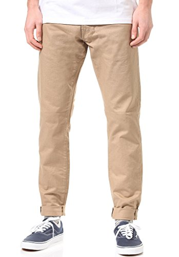 Carhartt Hosen Buccaneer Hanford Leather Rinsed